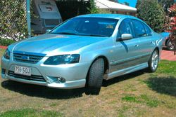 FORD Fairmont Ghia, 2007, 140,000kms, 6spd auto, towbar, new tyres, leather upholstery, top class...