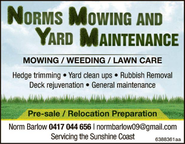 Pre-sale   Relocation Preparation   Norm Barlow 0417 044 656   normbarlow09@gmail.com...