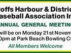 Coffs Harbour & District Baseball Association Inc