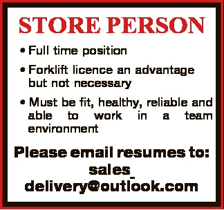 STORE PERSON