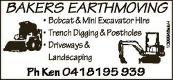 * Bobcat & Mini Excavator Hire * Trench Digging & Postholes * Driveways & Landscaping Ph...