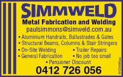 * Aluminium Handrails, Ballustrades & Gates * Structural Beams, Columns & Stair Stringers *...