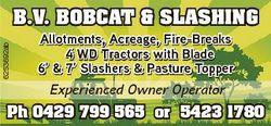 6253692ab B.V. BOBCAT & SLASHING Allotments, Acreage, Fire-Breaks 4 WD Tractors with Blade 6&#39...