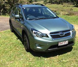 XU Subaru MY15, 2015, Hatch, auto, only 7,000kms, 2L, CVT, jasmine green metallic, as new. Bitume...