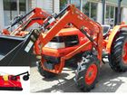 Kubota 36HP 4 in 1 FEL,