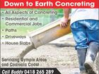 Down to Earth Concreting