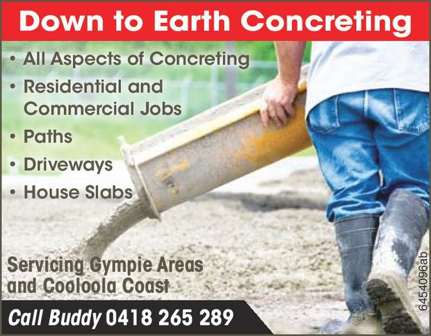 This family concreting business is dedicated in delivering the best possible service for customer...
