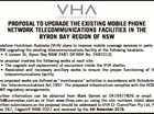 PROPOSAL TO UPGRADE THE EXISTING MOBILE PHONE NETWORK TELECOMMUNICATIONS FACILITIES IN THE BYRON BAY REGION OF NSW Vodafone Hutchison Australia (VHA) plans to improve mobile coverage services in parts of NSW upgrading the existing telecommunications facility at the following locations: * 4 Jonson St, Byron Bay NSW 2481 (RFNSA No. 2481013 ...