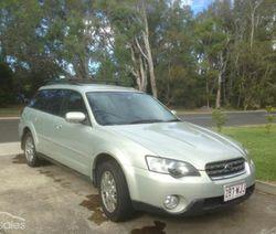 2004 Subaru Outback, 3GEN R wagon,    5dr Sports,  auto,  5sp AWD 3.0i,  lo...