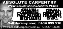 5473983ab A Nominee of Business Achiever Awards Residential Kitchen Bathroom & Commercial Repair...