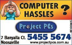 5874040abHC 7 Banyalla Ct. Noosaville 5455 5674 www.projectpcs.com.au