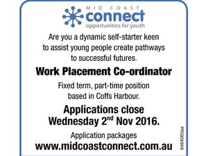 Work Placement Co-ordinator