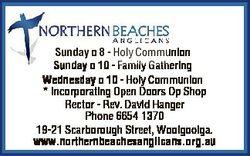 Sunday 8 - Holy Communion Sunday 10 - Family Gathering Wednesday 10 - Holy Communion * Incorporating...