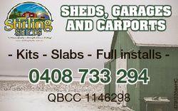 SHEDS, GARAGES AND CARPORTS 0408 733 294 QBCC 1146298 4791235aeHC - Kits - Slabs - Full installs -