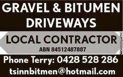LOCAL CONTRACTOR ABN 84512487887 Phone Terry: 0428 528 286 tsinnbitmen@hotmail.com 5850945aaHC GRAVE...