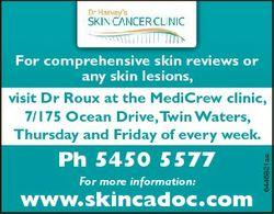 Ph 5450 5577 For more information: www.skincadoc.com 6446821ae For comprehensive h i skin ki reviews...