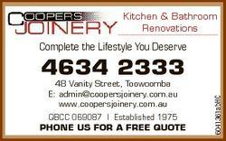 Kitchen & Bathroom Renovations Complete the Lifestyle You Deserve 48 Vanity Street, Toowoomba E:...
