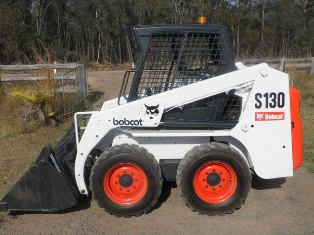 Bobcat S130 2007,4 in 1 Combination Bucket, 48hp Kubota diesel, skid steer loader, 500 hours 4in1 bu...