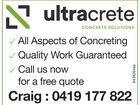 Ultracrete Concrete Services
