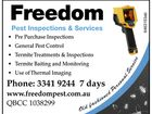 FREEDOM PEST INSPECTIONS & SERVICES