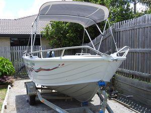 ALLY CRAFT 435 TOPENDER aluminium dinghy