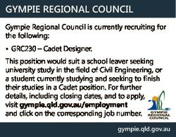 GYMPIE REGIONAL COUNCIL Gympie Regional Council is currently recruiting for the following: * GRC230...