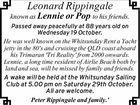 Leonard Rippingale