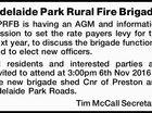 Adelaide Park Rural Fire Brigade