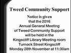 Tweed Community Support