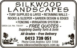 QBSA Lic. No. 732207 - FREE QUOTES - Supplying Quality Turfs & Soils All Grades - Free Delivery...