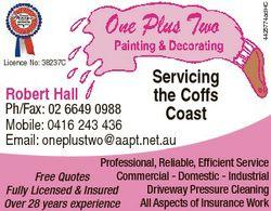 Servicing The Coffs Licence No: 38237C Coast 4425774adHC 1376516ac 1797649ab Licence No: 38237C Serv...