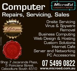 Computer 5022438ac Repairs, Servicing, Sales Onsite Servicing Virus & Spyware Removal Business C...