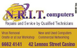 5920513aa Virus Removal Onsite or at our Workshop 6662 4141 New and Used Computers Commercial Networ...