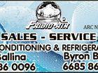 6011826aahc ARC No AU07018 SALES - SERVICE AIR-CONDITIONING & REFRIGERATION Ballina 6686 0096 Byron Bay 6685 8620