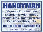 Handyman Keith