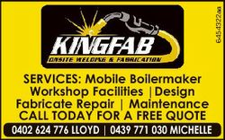 6454322aa SERVICES: Mobile Boilermaker Workshop Facilities |Design Fabricate Repair | Maintenance CA...