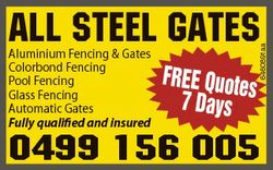 Aluminium Fencing & Gates