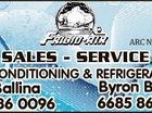 6011826aahc ARC No AU07018 SALES - SERVICE AIR-CONDITIONING & REFRIGERATION Ballina 6686 0096 Byron Bay 6685 8620