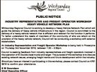 PUBLIC NOTICE INDUSTRY REPRESENTATIVE AND FREIGHT OPERATOR WORKSHOP HEAVY VEHICLE NETWORK PLAN Whitsunday Regional Council is working to develop a Heavy Vehicle Network Plan which will guide the delivery of heavy vehicle infrastructure in the region. Council is committed to the delivery of a heavy vehicle network that is efficient ...