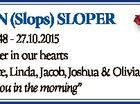 """3.8.1948 - 27.10.2015 Forever in our hearts Junette, Linda, Jacob, Joshua & Olivia """"See you in the morning"""" 6468324aa RON (Slops) SLOPER"""