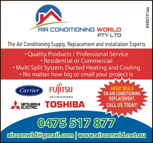 The Air Conditioning Supply, Replacement, and Installation Experts