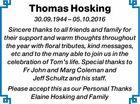 Thomas Hosking