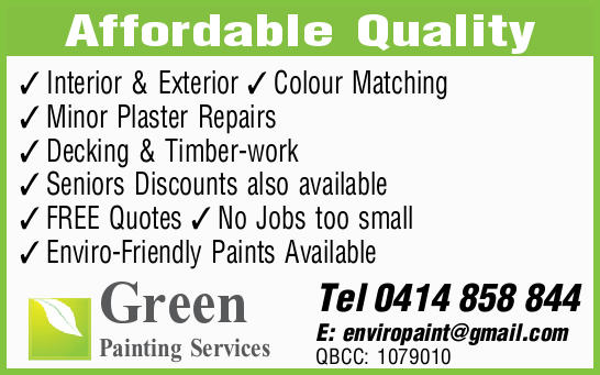 Green Painting Services     Affordable Quality  Interior & Exterior  Colour...