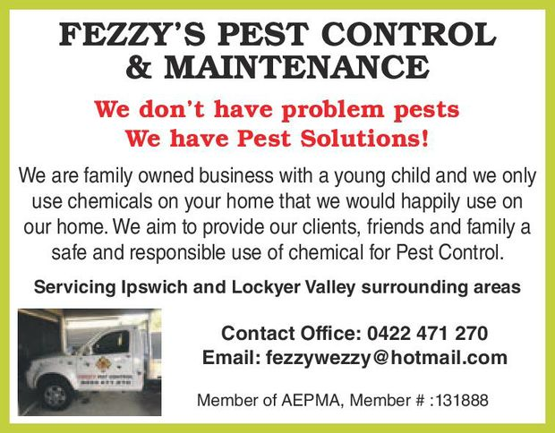 Our Pest Control Services include: