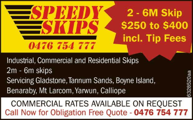 SPEEDY SKIPS