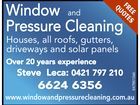 Window and Pressure Cleaning