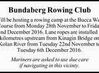 Bundaberg Rowing Club