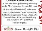 Croxson, Carole Doreen