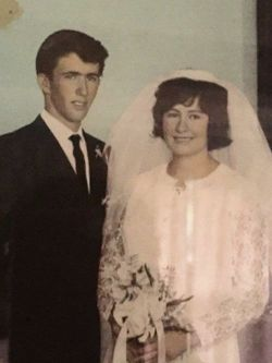 Congratulations on your 50th Wedding Anniversary Dale & Helene. Love from Ray & Michelle, Tracey & S...