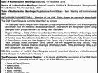 PUBLIC NOTICE GAANGALU NATION PEOPLE AUTHORISATION MEETING
